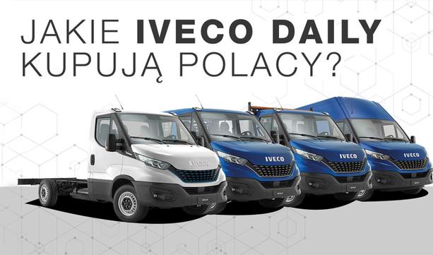 Codziennie cztery Iveco Daily. Jakie dostawczaki kupują Polacy?
