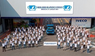 600-tysięczny egzemplarz Eurocargo wyprodukowany w kultowych zakładach IVECO