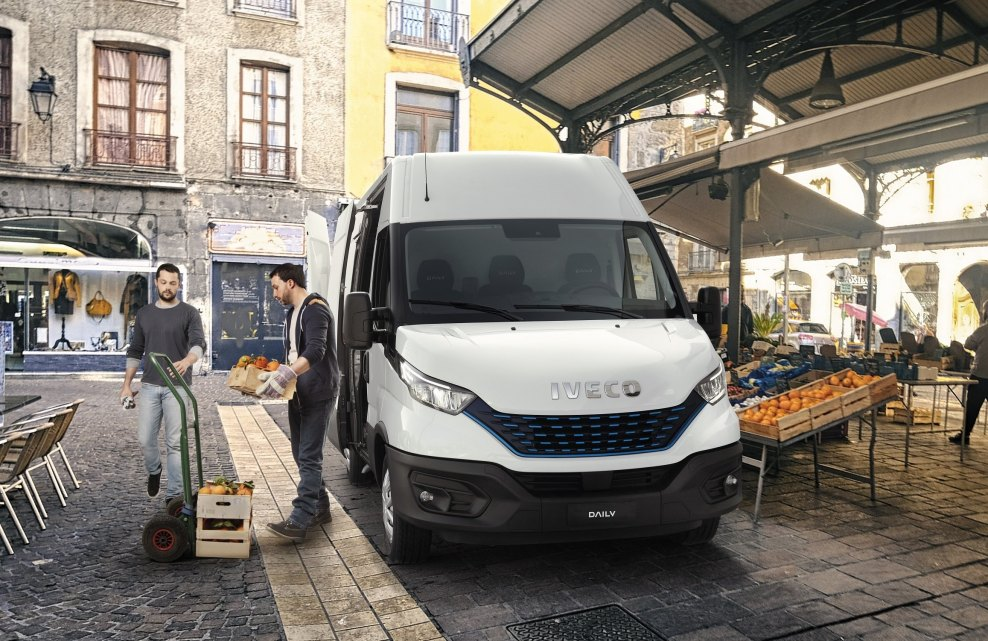 Sezon na ... IVECO Daily